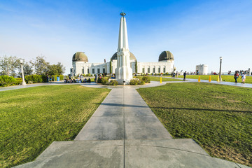 Griffith Observatory park,Los Angeles,California,usa.  -editoria