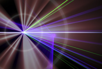 LED spotlight Gradient blur of light texture background