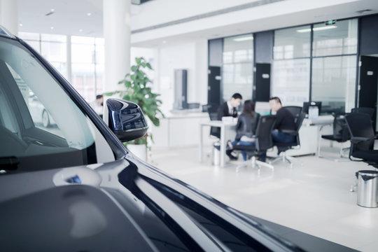 Automobile sales ,