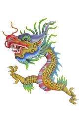 Stock Photo:.Dragon statue