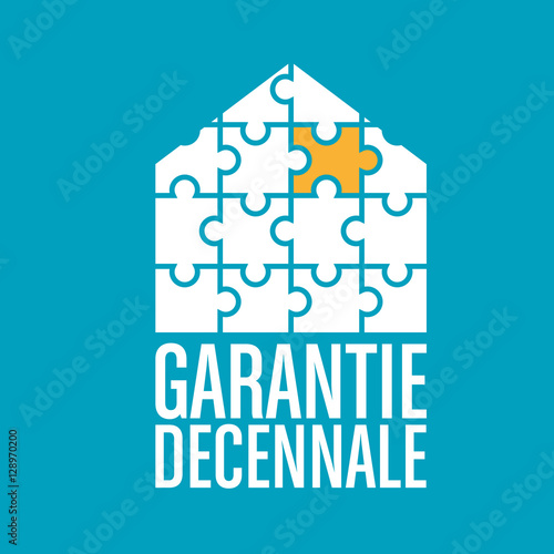 garantie d cennale maison stock image and royalty free