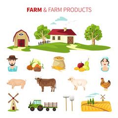 Farming Vector Set