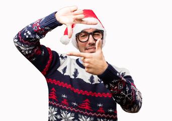 Happy young man at Christmas