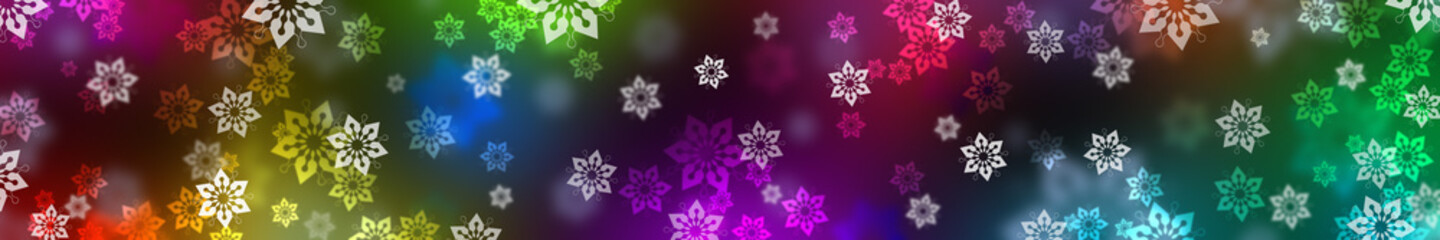 Festive Christmas background. banner.