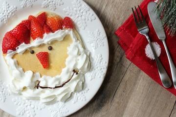 Resultado de imagen de santa pancake