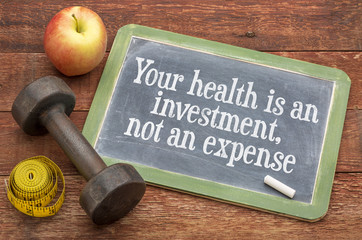 Fototapeta Your health is an investment obraz