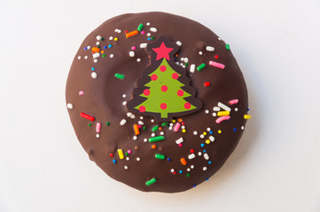 A doughnut or donut is a type of fried dough confectionery or dessert food.