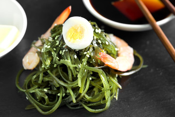 Delicious fresh seaweed chinese salad