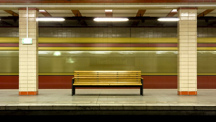 U-Bahnhof Nordbahnhof in Berlin