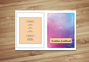 Grid Style Fashion Lookbook Layout 2