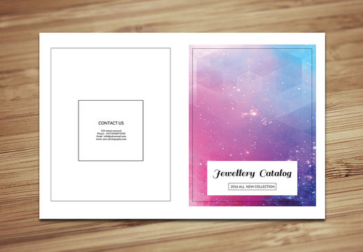 Jewelry Catalog Layout 1