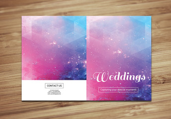 Wedding Photographer Brochure Layout 2