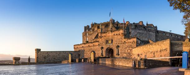 Wall Murals Castle Edinburgh Castle panoramic view