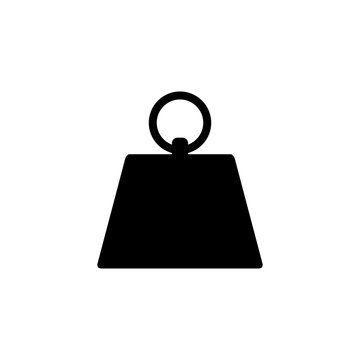 Kilogram Icon Flat