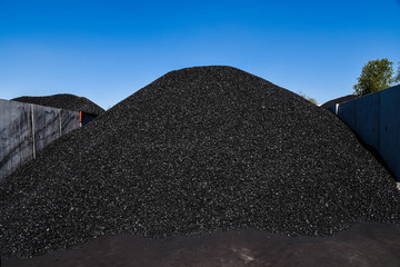 Coal for sale.