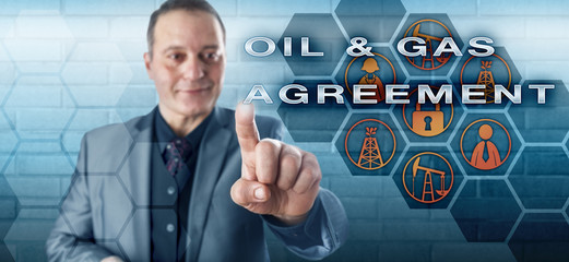 Cheerful Negotiator Touching OIL & GAS AGREEMENT