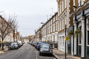 Residential area in Hammersmith