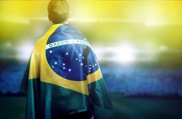 Brazil Soccer Wall mural
