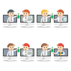 online businessman pc set 2