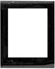 Photo frame. Emulsion film polaroid border frame.