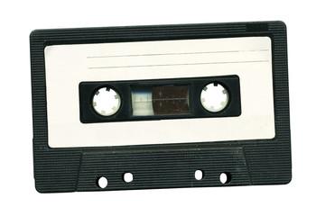 Music cassette tape deck. Analog tape recorder.