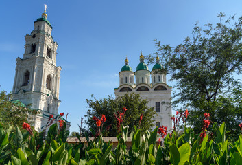 Cathedral of the Assumption in Kremlin Astrakhan