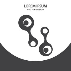 Germ icon. Simple design for web and mobile