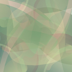 Abstract green vector background.