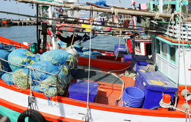 Messy Fishing Ship