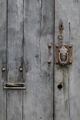 Alte Antike Holztür