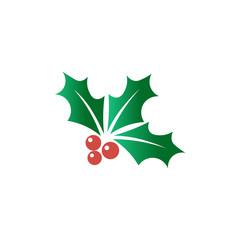 Christmas berry vector illustration