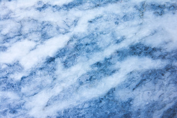 Blue marble patterned texture background