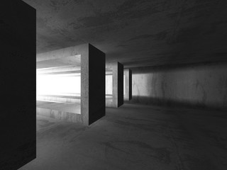 Abstract concrete geometric architecture background