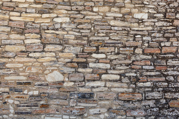Old stone wall texture.