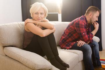 Αποτέλεσμα εικόνας για disappointed couple