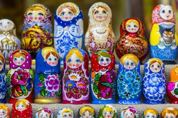 Russian  Dolls Matreshka Moscow