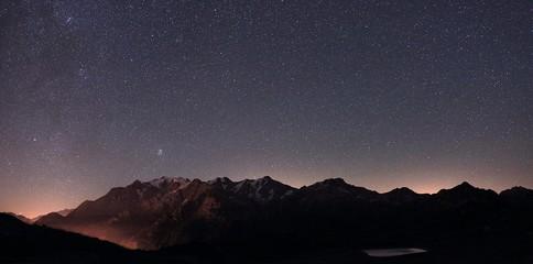 Mountains full of stars