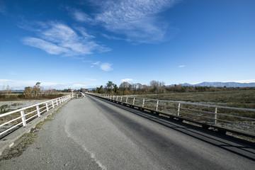 Orari Bridge,South Island New Zealand