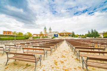 Benches of Catholics Church