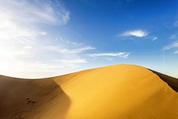 Desert landscape. Gobi, china.