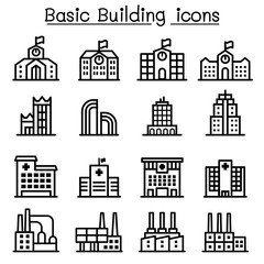 Basic building icon