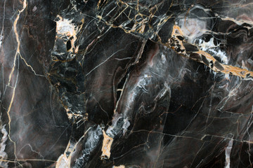Wall Murals Marble Mulicolored dark natural marble.