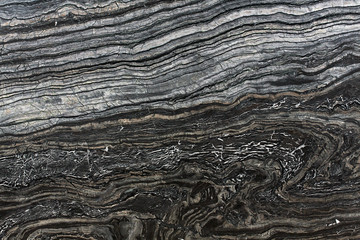 Poster Marble Black marble texture for abstract background.