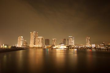 豊洲の夜景風景