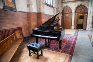 Piano In A Catholic Church