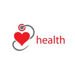 vector logo health