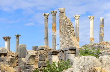 Volubilis - Roman Empire ruins, Morocco, Africa
