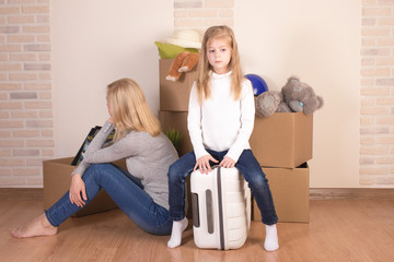 Moving can be a time of stress