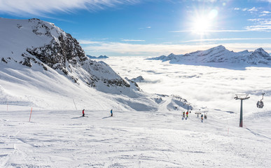 Monterosa ski, Gressoney, Valle d'Aosta
