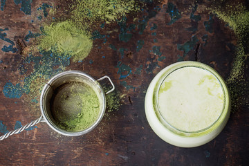 Green Matcha Latte